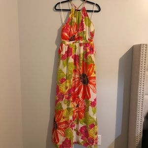 Anthropologie Silk Dress